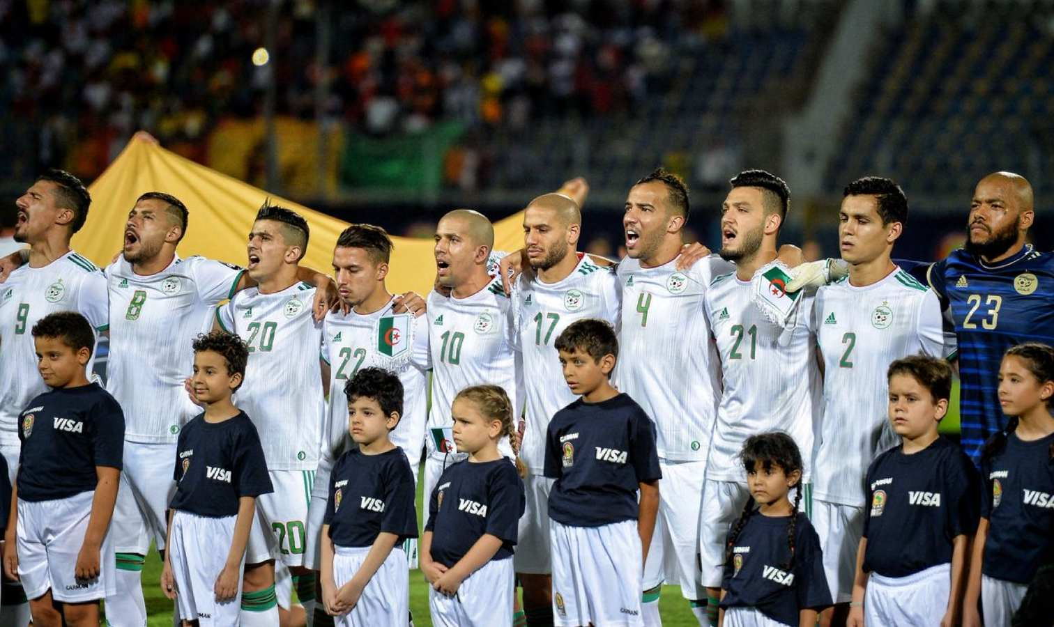 hymne algerien chant fort