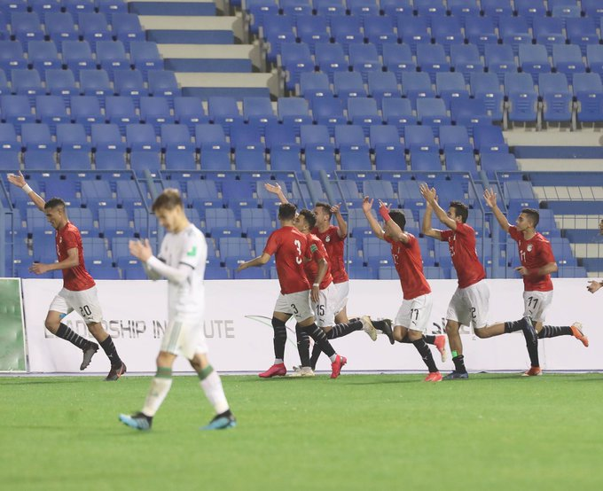 joie des egyptiens alg arabe cup U20