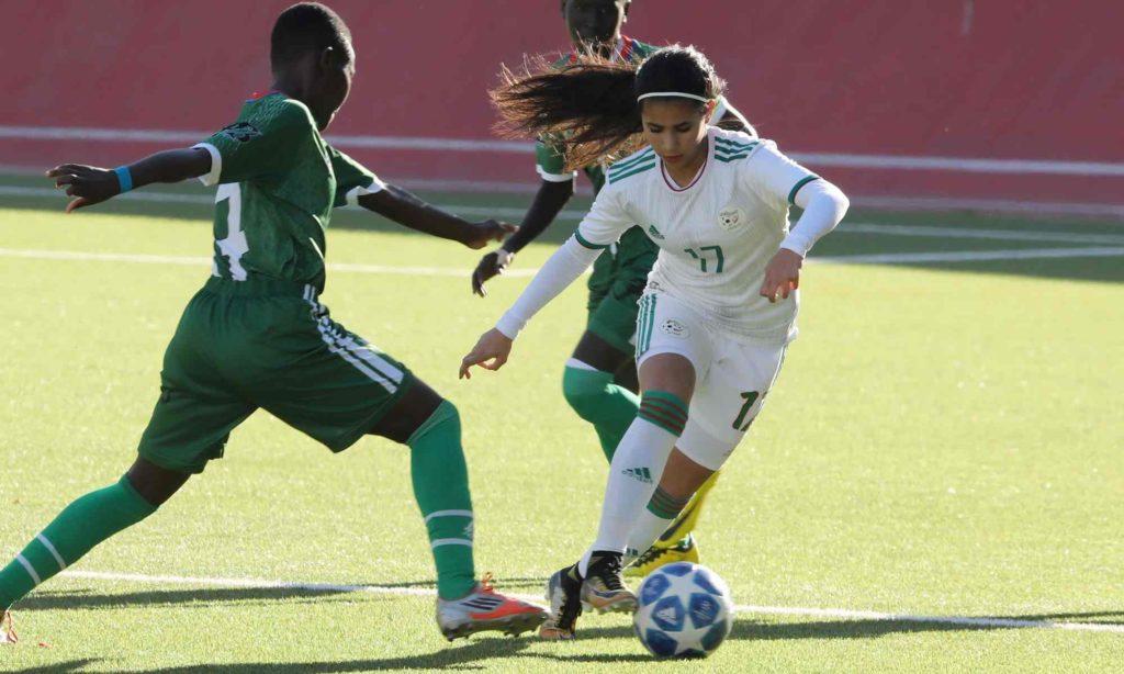 selection U20 feminine duel soudan sud