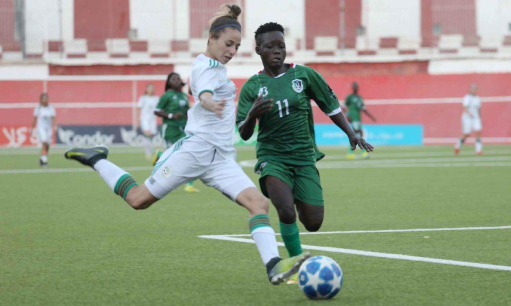 selection U20 feminine joueuse frappe soudan sud