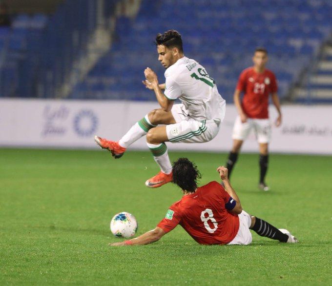 tacle algerien alg arabe cup U20