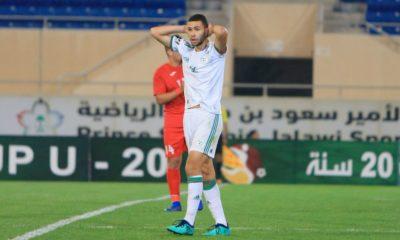 u20 coupe arabe algerie defaite