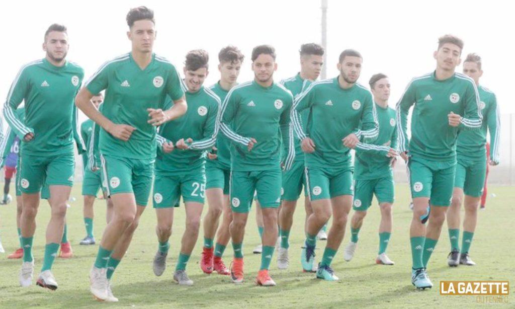 u20 jeunes zerrouki coupe arabe groupe