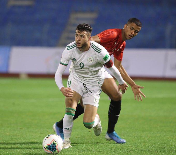 zerrouki capitaine alg arabe cup U20