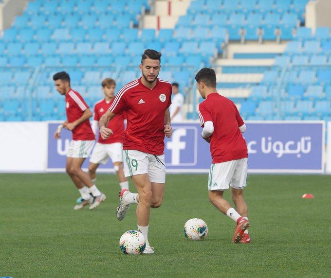zerrouki rouge alg arabe cup U20