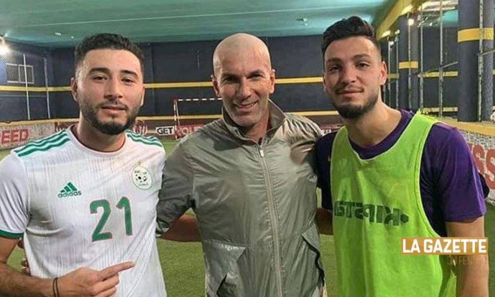 Bensebaini a battu Zidane et espère une chose — International