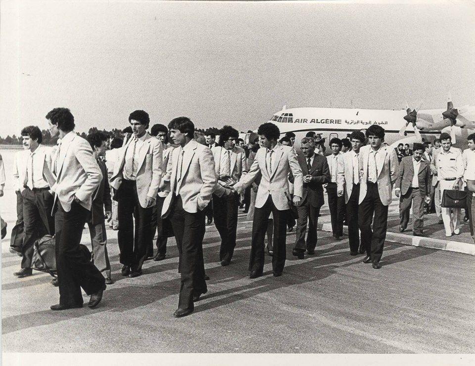 EN 1982 avion air algerie madjer kourichi zidane dahleb