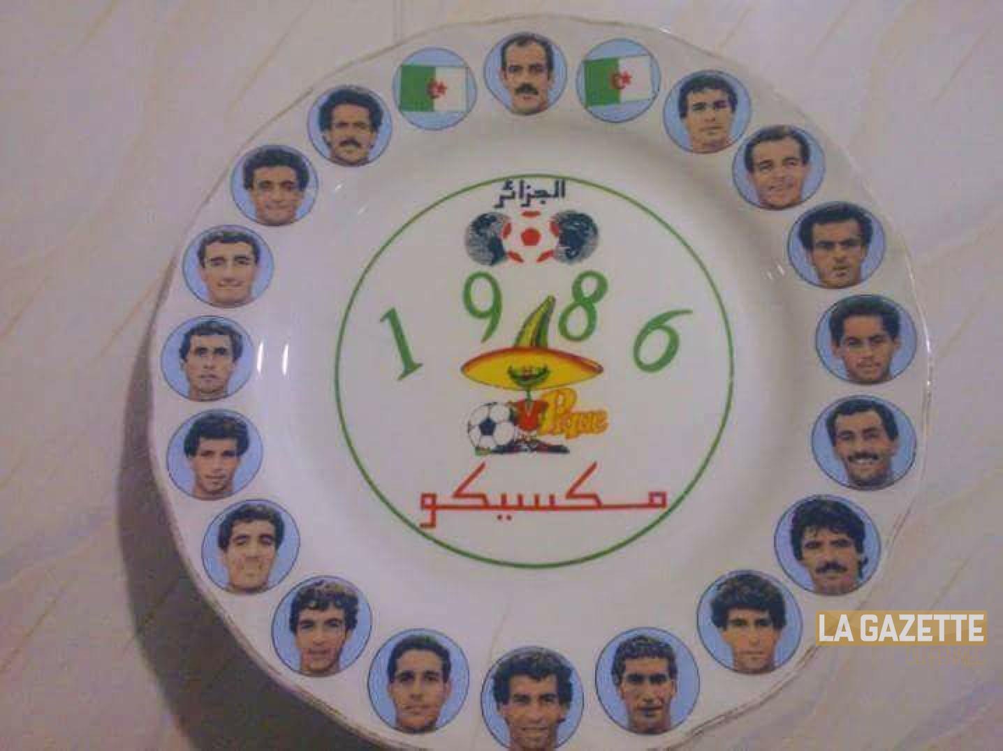 assiette mexico 1986