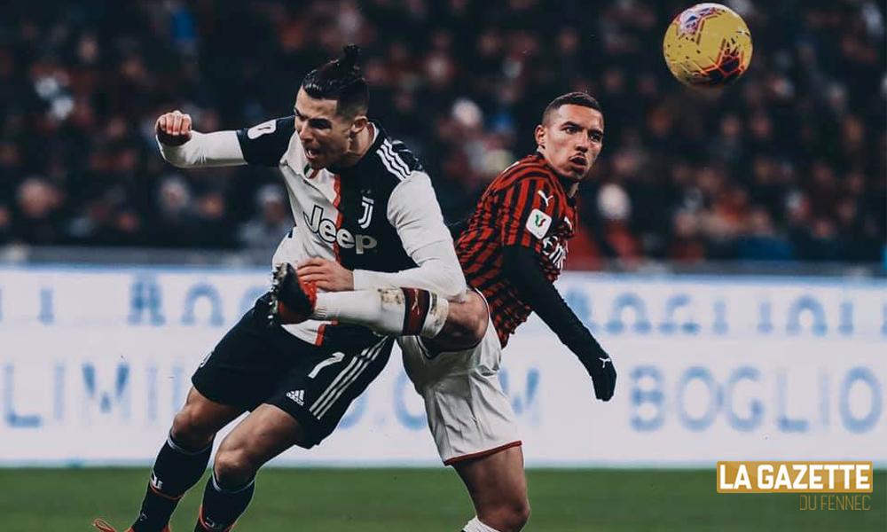 bennacer ronaldo match reporté