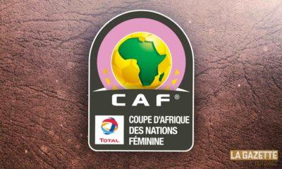 feminine coupe afrique logo CAN dame