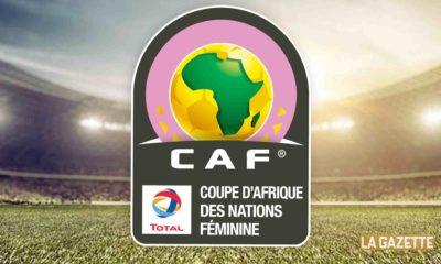 feminine coupe d afrique logo CAN dame