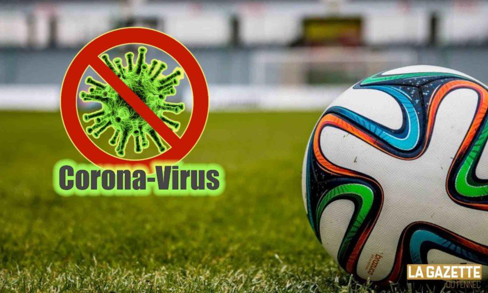football corona virus stop