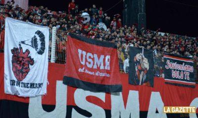 usma banderole supporters fans virage