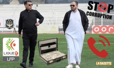 corruption halfaya ess ligue 1 scandale audio