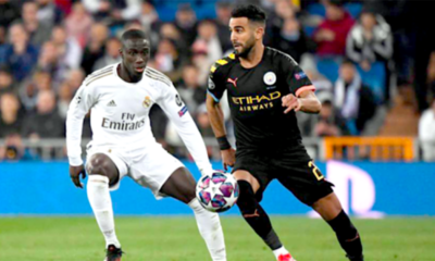 Riyad Mahrez City Real Madrid