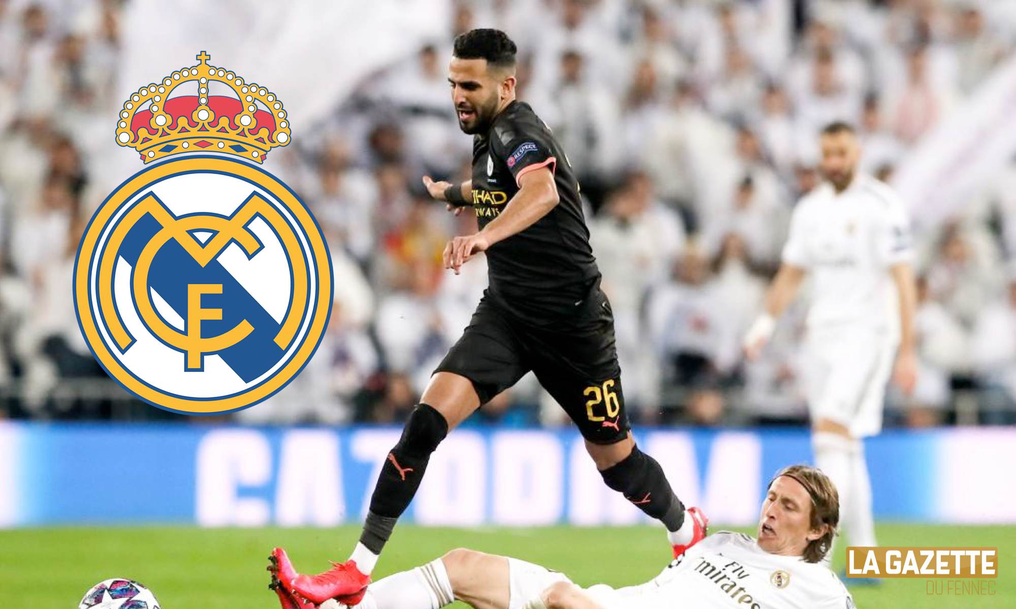 Prise de contacts du Real Madrid avec Riyad Mahrez — Mercato