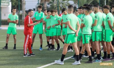 stage selection U20 jeunes sidi moussa