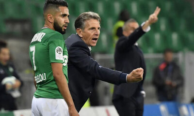 Boudebouz Puel AS Saint Etienne
