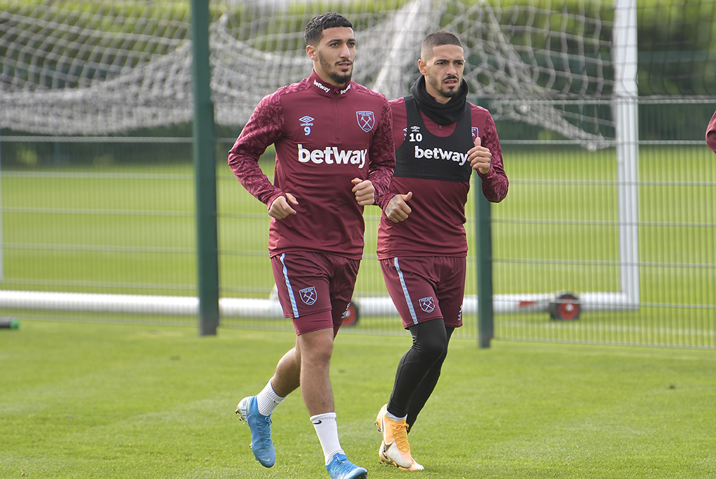 benrahma said entrainement a west ham debut