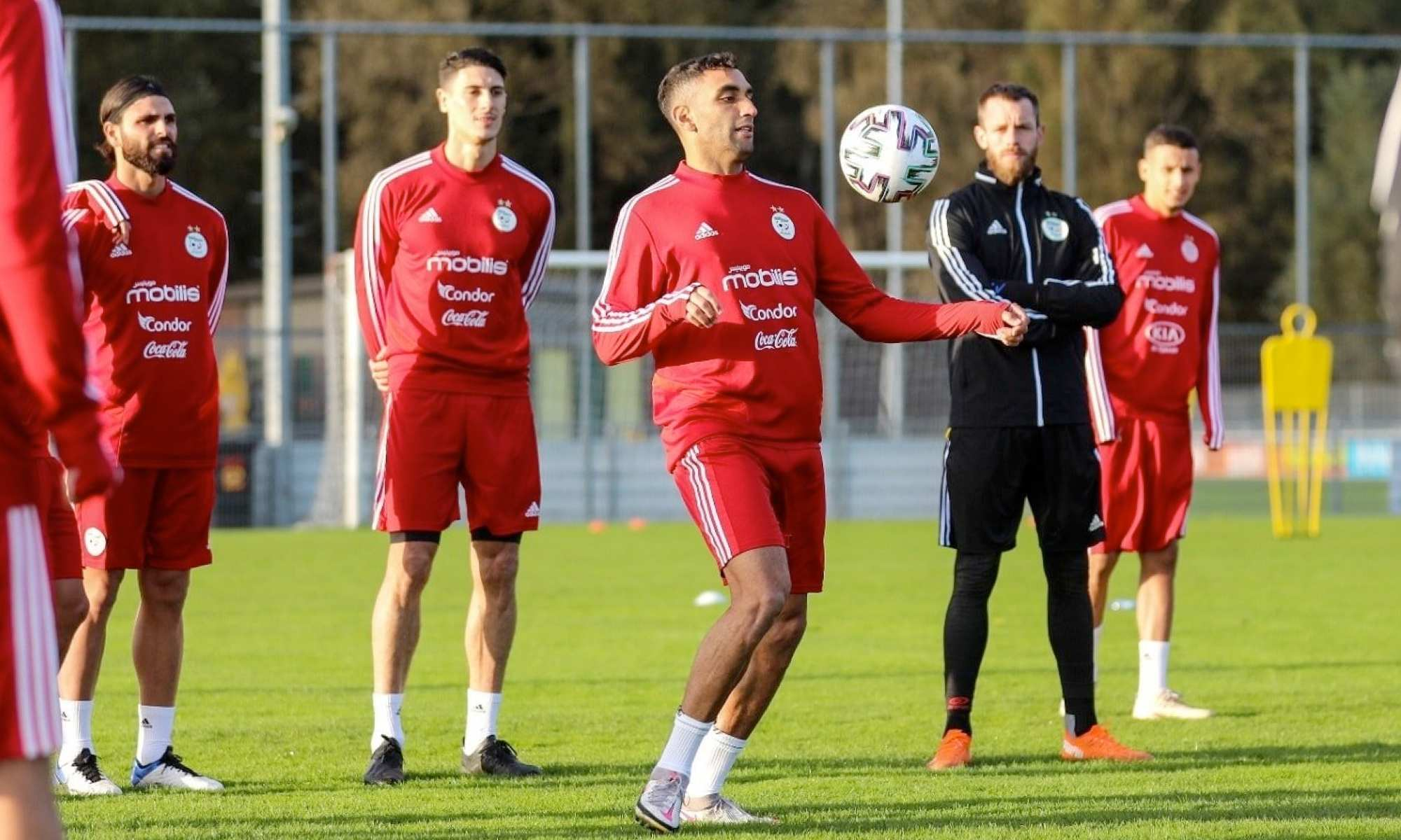 fares tahrat oukidja spano groupe entrainement stage rouge pays bas octobre