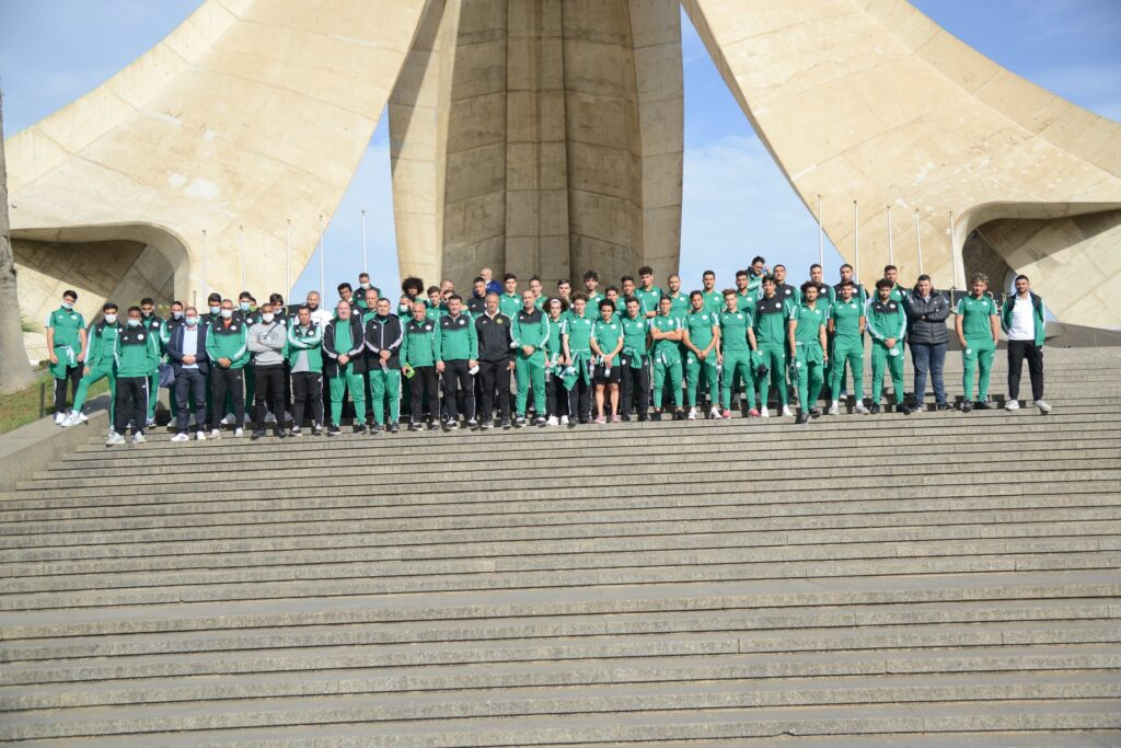monument maqam chahid alger visite selection U20 task force