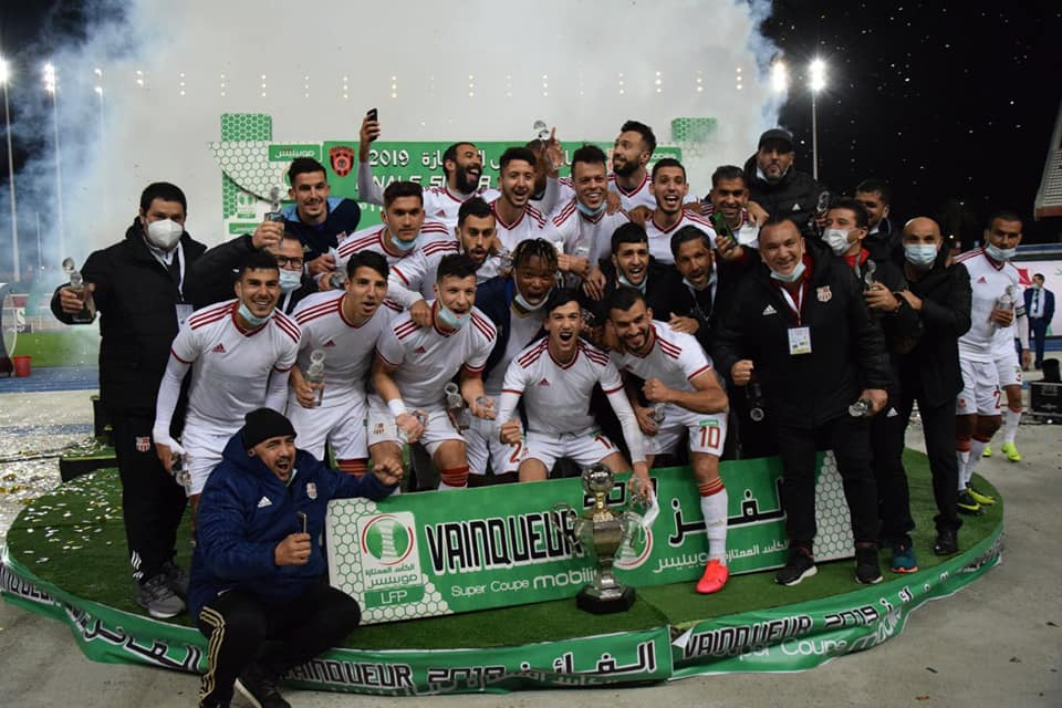 supercoupe algerie pour crb sayoud nessakh joie chabab