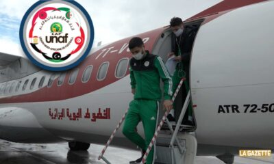 selection U20 unaf 2020 U20 arrive Tunis avion