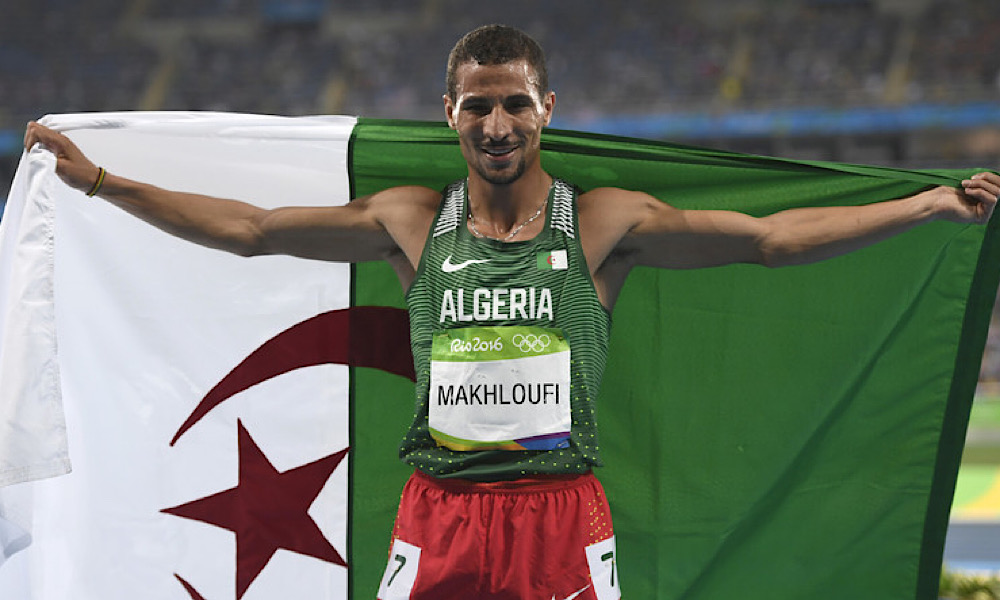 Taoufik Makhloufi Mexique Jeux Olympiques Tokyo