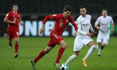 Ramy Bensebaïni Bayern Munich Bundesliga Borussia Monchengladbach Thomas Muller