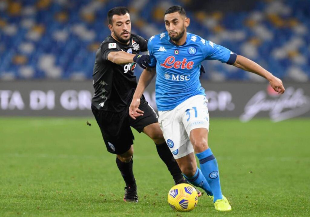 ghoulam coupe italie naple