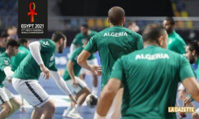 handball dos algerie bilan egypt2021