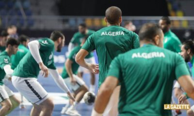 handball dos daoud algerie bilan egypt2021
