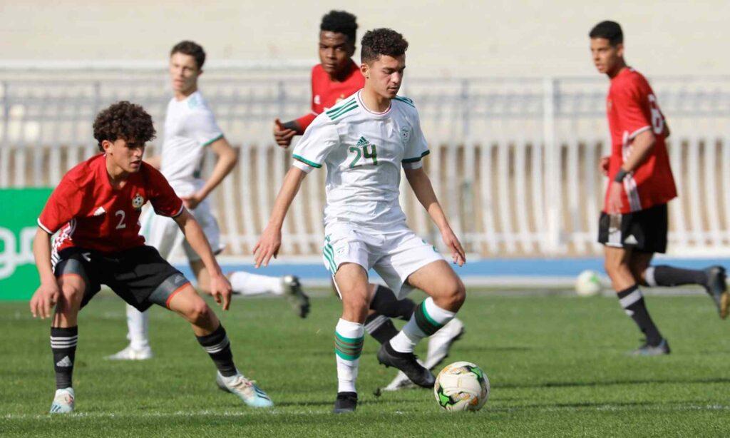 joueur U17 UNAF 2021 janvier libye