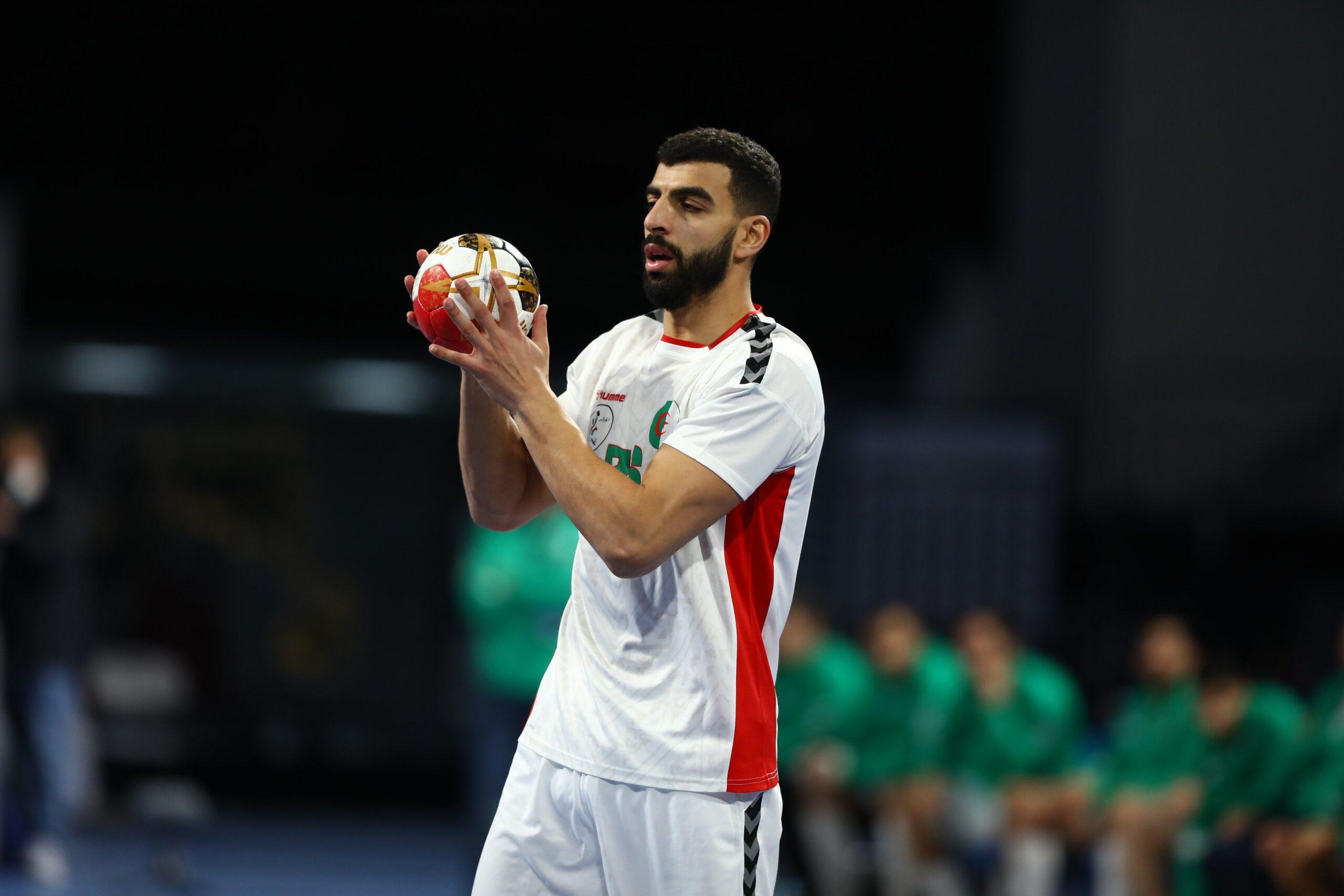 kader rahimi algerie handball egypt2021