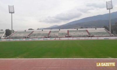 stade tchaker pelouse janvier 2021 stadedz