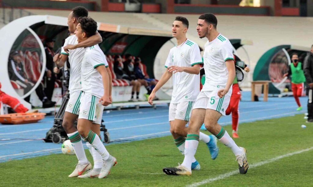 tabbouche joie ouchouache U17 UNAF 2021 janvier libye