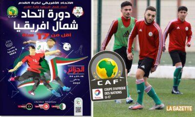 tournoi unaf U17 affiche can U17