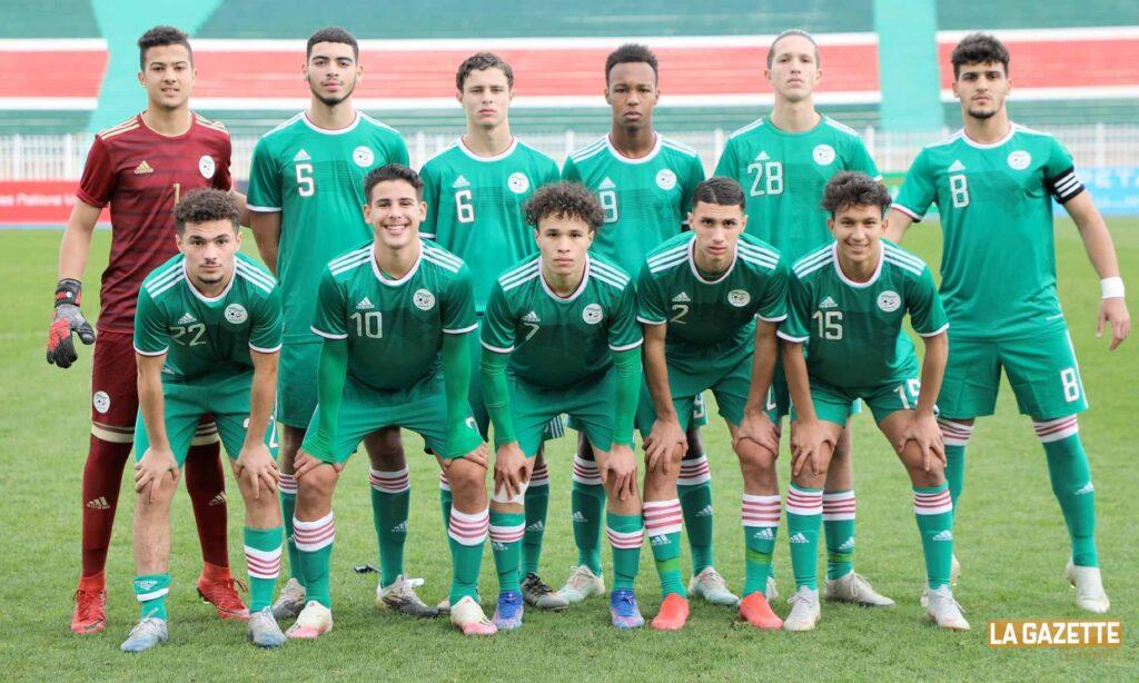 u17 unaf algerie tunisie janvier aigle team
