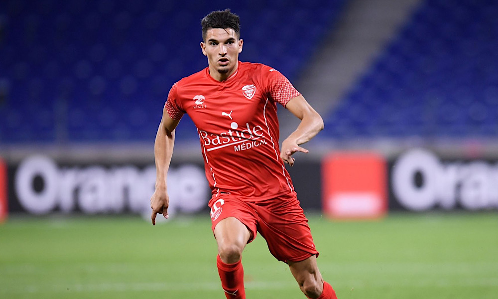 Zinédine Ferhat Nîmes Olympique Le Havre AC USM Alger Ligue 1