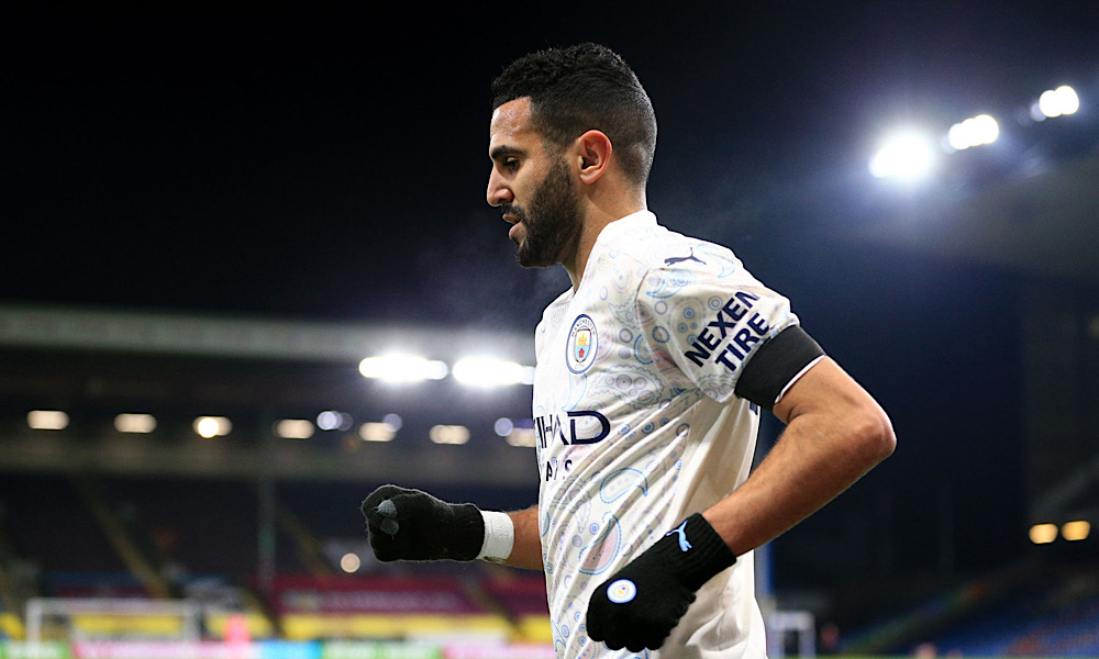 Riyad Mahrez vs Burnley