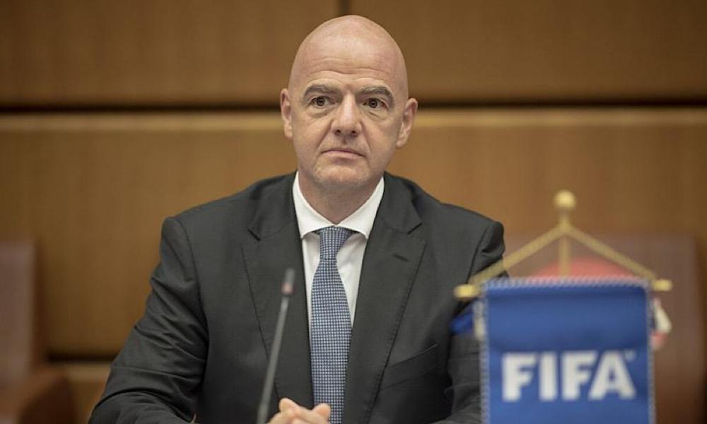 Gianni Infantino OMS COVID-19 FIFA