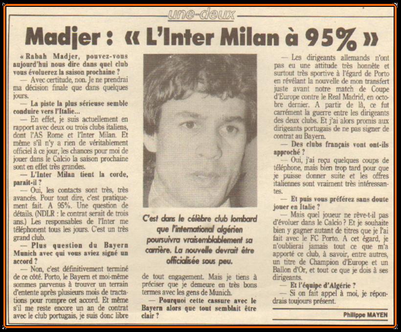 RabahMADJER InterMilan1988