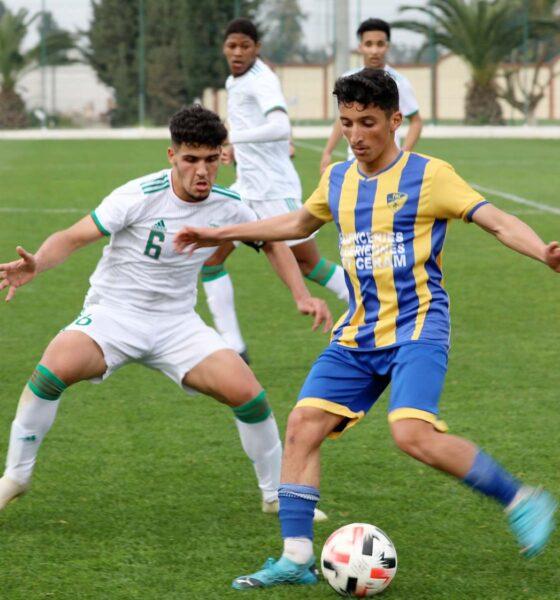 U17 match amical contre paradou pac