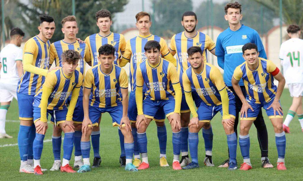U17 team amical paradou pac