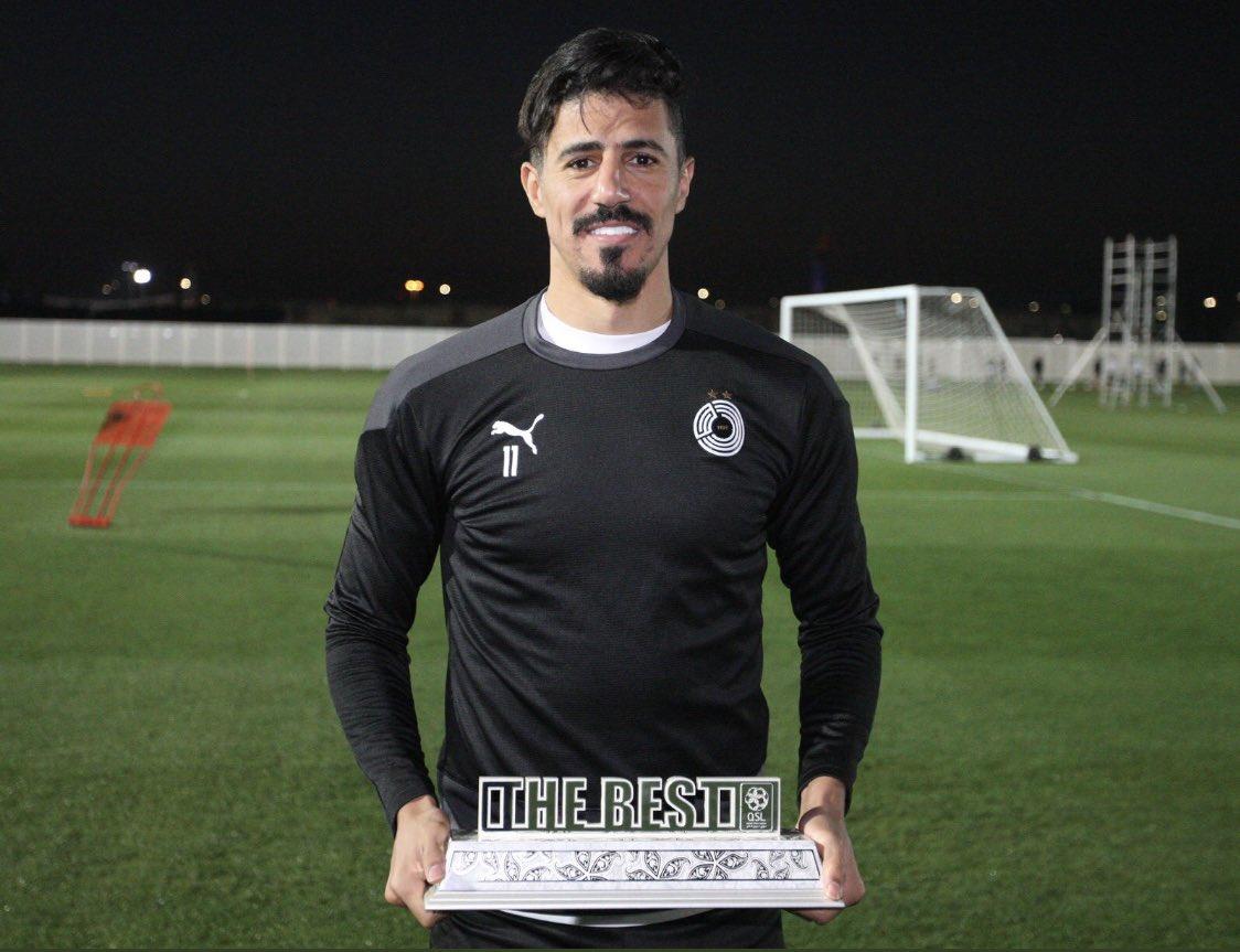 bounedjah qatar meilleur joueur janvier qsl