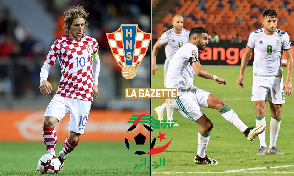 croatie algerie