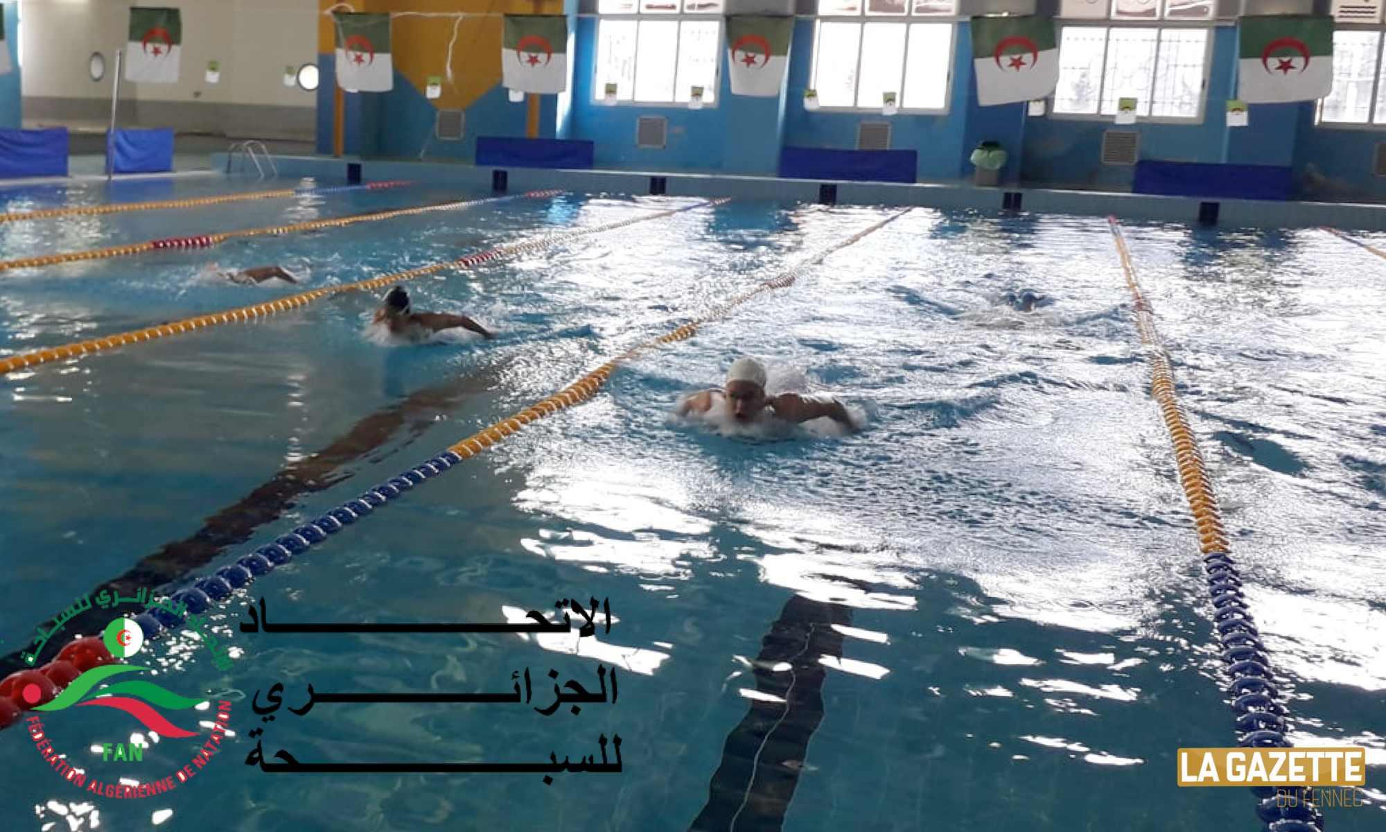 natation fan piscine