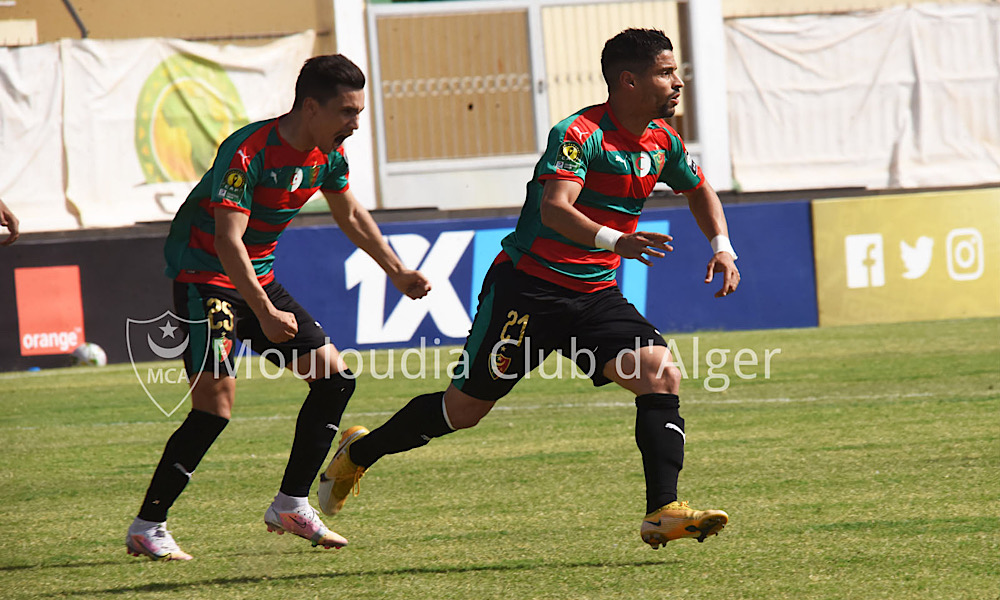 MC Alger CAF Champions League Belkheir Bensaha