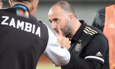 belmadi enerve arbitre coach zambie doigt menace