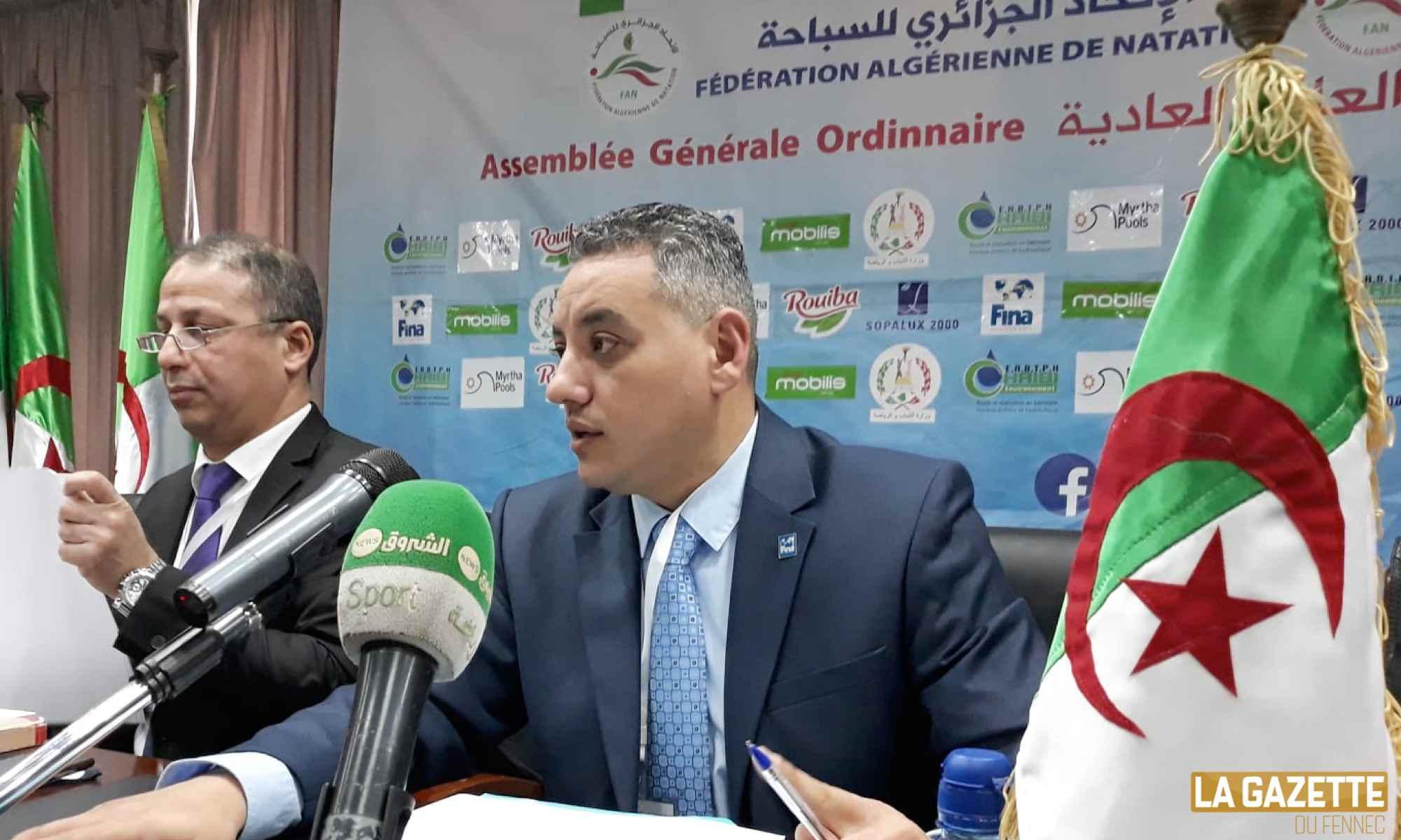 boughadou candidat unique natation fan reelu